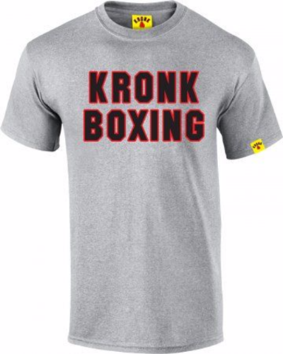 Kronk Boxing T-Shirt Grey